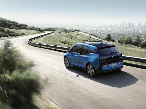 BMW i3 Elektroauto mit mehr Reichweite