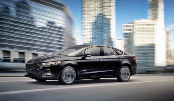 Ford Fusion Energi Limousine
