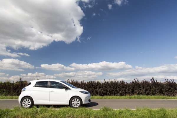 Renault ZOE auf Usedom
