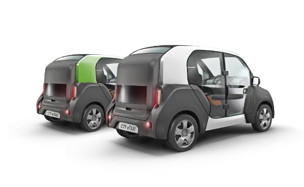 ACM CITY eTAXI Fahrzeuge als Transporter