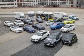 Plug-In und Elektroantrieb: Alle Mercedes-Benz Baureihen werden elektrifiziert