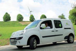 Bio-Landwirt hat 100.000 Kilometer im Renault Kangoo Maxi Z.E. zurückgelegt
