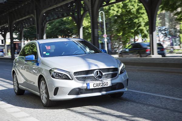 Mercedes-Benz Autos für car2go