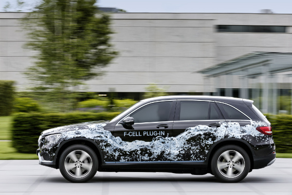 Prototyp des Mercedes-Benz GLC F-CELL