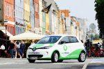 Renault ZOE Carsharing-Fahrzeug in Kopenhagen