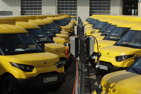 StreetScooter - Elektrotransporter der Deutschen Post DHL