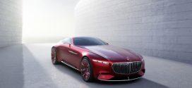 Vision Mercedes-Maybach 6: Luxus-Coupe mit Elektroantrieb und 750 PS