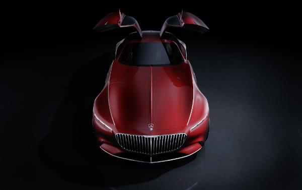Vision Mercedes Maybach 6 - Flügeltüren