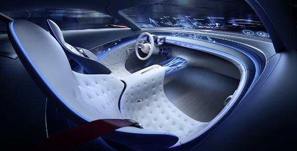 Vision Mercedes Maybach 6 - Innenraum