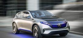 Mercedes-Benz Generation EQ: Elektroauto mit bis zu 500 km Reichweite