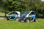 Renault Twizy Polizeifahrzeuge