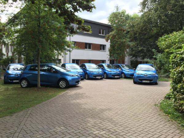 Renault ZOE für Lebenshilfe Erfurt