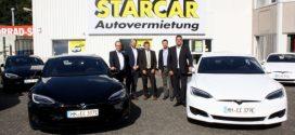 STARCAR Autovermietung bietet jetzt auch das Model S von Tesla an
