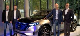 Mercedes-Benz will bis 2025 mehr als zehn voll elektrische Autos in Serie bauen