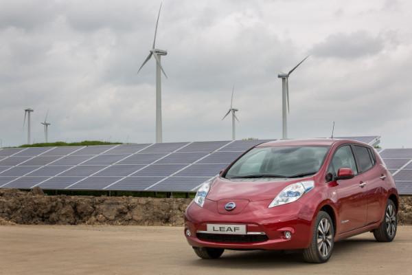 Perfekte Kombination: Nissan Leaf und Erneuerbare Energien