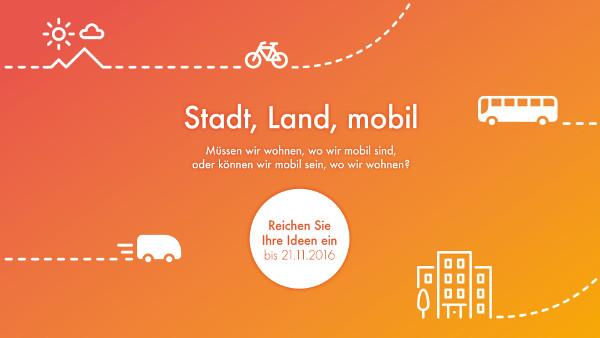 Stadt, Land, Mobil Banner