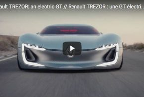 Renault Trezor: Rassige GT-Studie mit Elektroantrieb