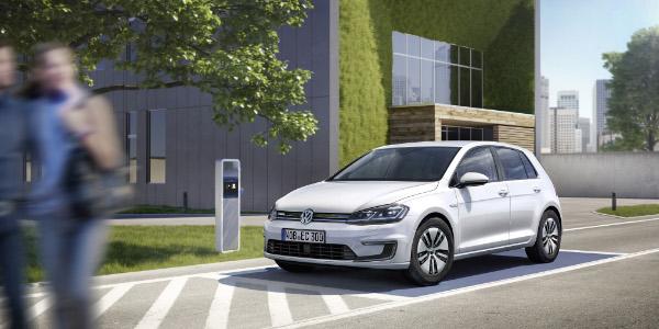 2017er Volkswagen e-Golf