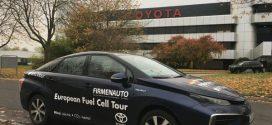 Ohne Abgase: 3.000 Kilometer von Stuttgart über Oslo nach Köln im Toyota Mirai