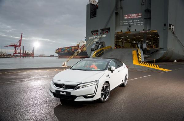 Einer der ersten Honda Clarity Fuel Cell in Europa