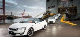 Die ersten Exemplare des Honda Clarity Fuel Cell sind in Europa angekommen