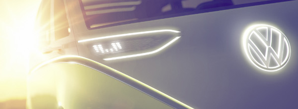 VW Elektroauto-Studie Detail-Ausblick