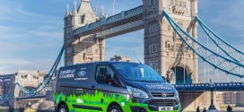 Testflotte von 20 Ford Transit Custom Plug-in-Hybrid in London