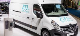 Aktualisierter Renault Kangoo Z.E. und Master Z.E. auf der European Motor Show