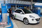 Opel ADAM 1.4 LPG ecoFLEX beim Autogas tanken