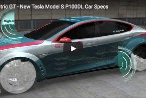 Elektrischer Super-Rennwagen EGT Tesla V2.0