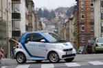 car2go Elektroauto in Stuttgart