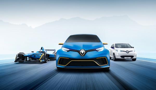 Renault ZOE e-Sport Concept - Mix aus Rennwagen und Kleinwagen