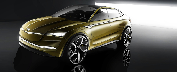 Skoda Vision E - Elektroauto-Studie