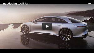 Vorstellung des Lucid Air Elektroautos
