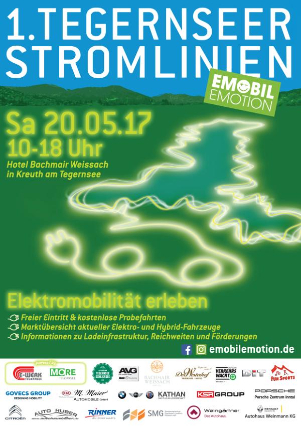 1. Tegernseer Stromlinien Plakat