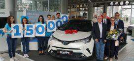 Hybridmodelle beflügeln Absatz von Toyota in Deutschland und Europa