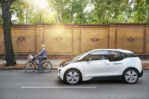 DriveNow Carsharing Auto BMW i3