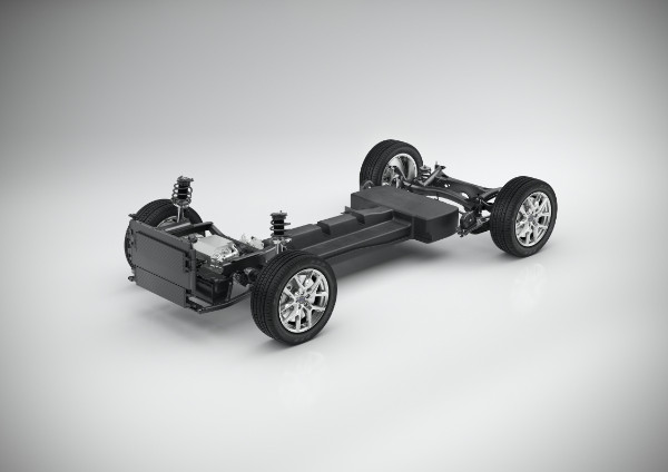 Volvo CMA Batterie Elektrofahrzeug - technische Konzeptstudie