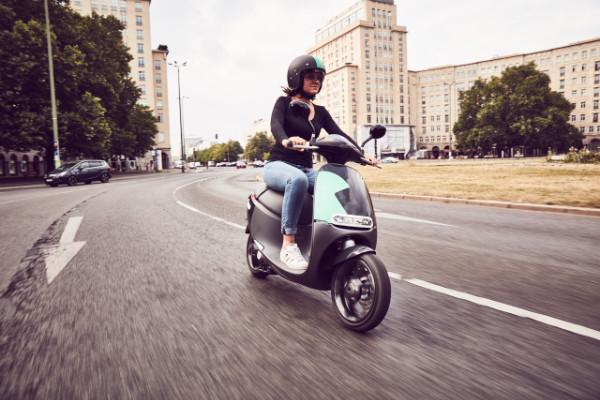 COUP Elektroroller-Carsharing