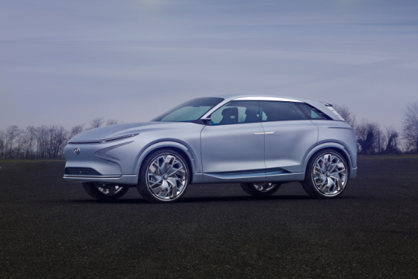 Hyundai FE Fuel Cell Concept Brennstoffzellenauto