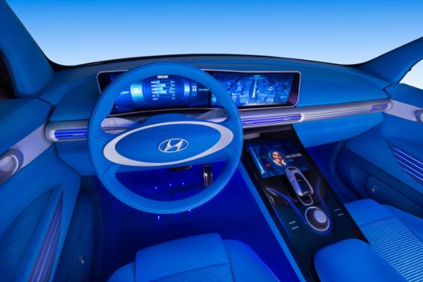 Hyundai FE Fuel Cell Concept - Innenraum
