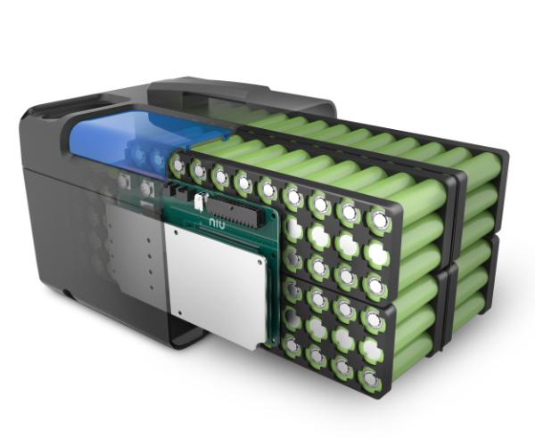 NIU N1S Elektroroller - Akku-Pack