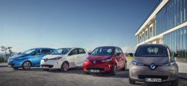 Renault auch im ersten Quartal 2017 die Nummer 1 bei E-Autos