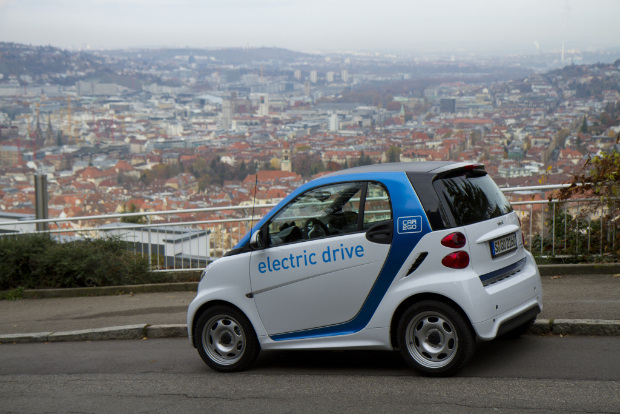 car2go - smart electric drive