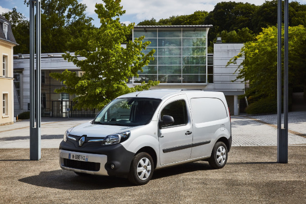 Renault Kangoo ZE mit 270 km Reichweite