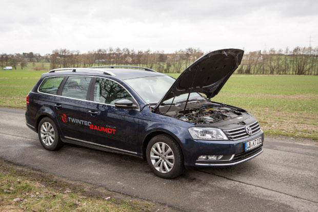 Mit BNOx nachgerüsteter VW Passat Diesel