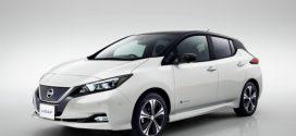 Nissan Leaf 2: Neues Design, mehr Leistung und bis zu 378 km Reichweite