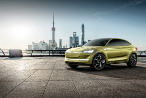 Škoda Vision E – Elektroauto-Studie mit 500 Kilometern Reichweite