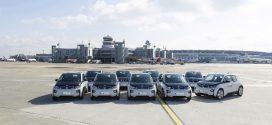 BMW i3 und BMW 225xe Active Tourer für den Fuhrpark des Düsseldorfer Airport