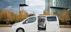 Nissan e-NV200 mit 40 kWh-Batterie feiert Weltpremiere
